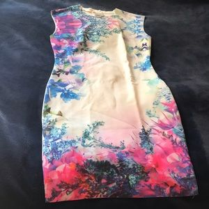 Floral digital print dress!